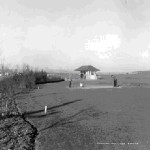 Jefferson Park Golf Course - circa 1915. Likely hole #1. (photo courtesy of Seattle Municipal Archives)