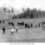 Seattle Golf Club President Taft Putting 1909