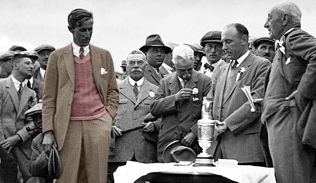 1925: Jim Barnes Open Champion at Prestwick