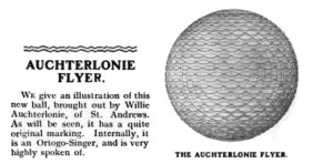 auchterlonie flyer ball