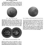 About the silk pneumatic golf ball