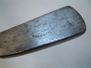 PAXTON PUTTER STAMP 2