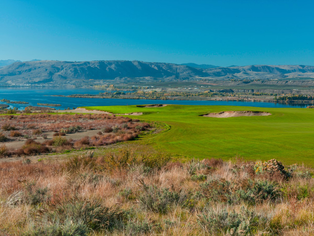 public golf course near Brewster, WA