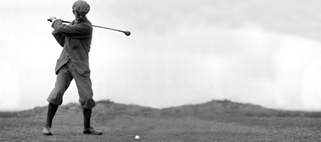 11 Victories and 2 runner-ups in 1887, John Laidlay invented the grip used by the vast majority of golfers